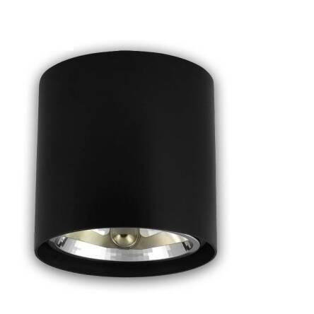 Oprawa Natynkowa Okrągła Czarna Ar111