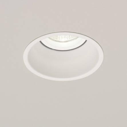 Lampa Sufitowa Wpuszczana Oczko Stropowe Minima 230v 5643 Biała Techniczna Okragła