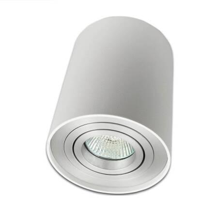 Oprawa Natynkowa Tuba Biała Aluminium