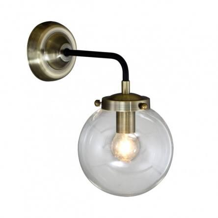 Lampa ścienna Kinkiet Odelia Mb1009 1 Italux W Surowym Stylu