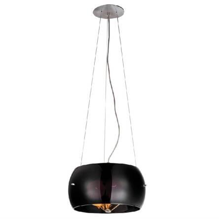 Lampa Wisząca Cosmo Czarna Azzardo 2901 3pa Wykonana Jest Z Metalu Oraz Szkła O Wykończeniu Czarnym
